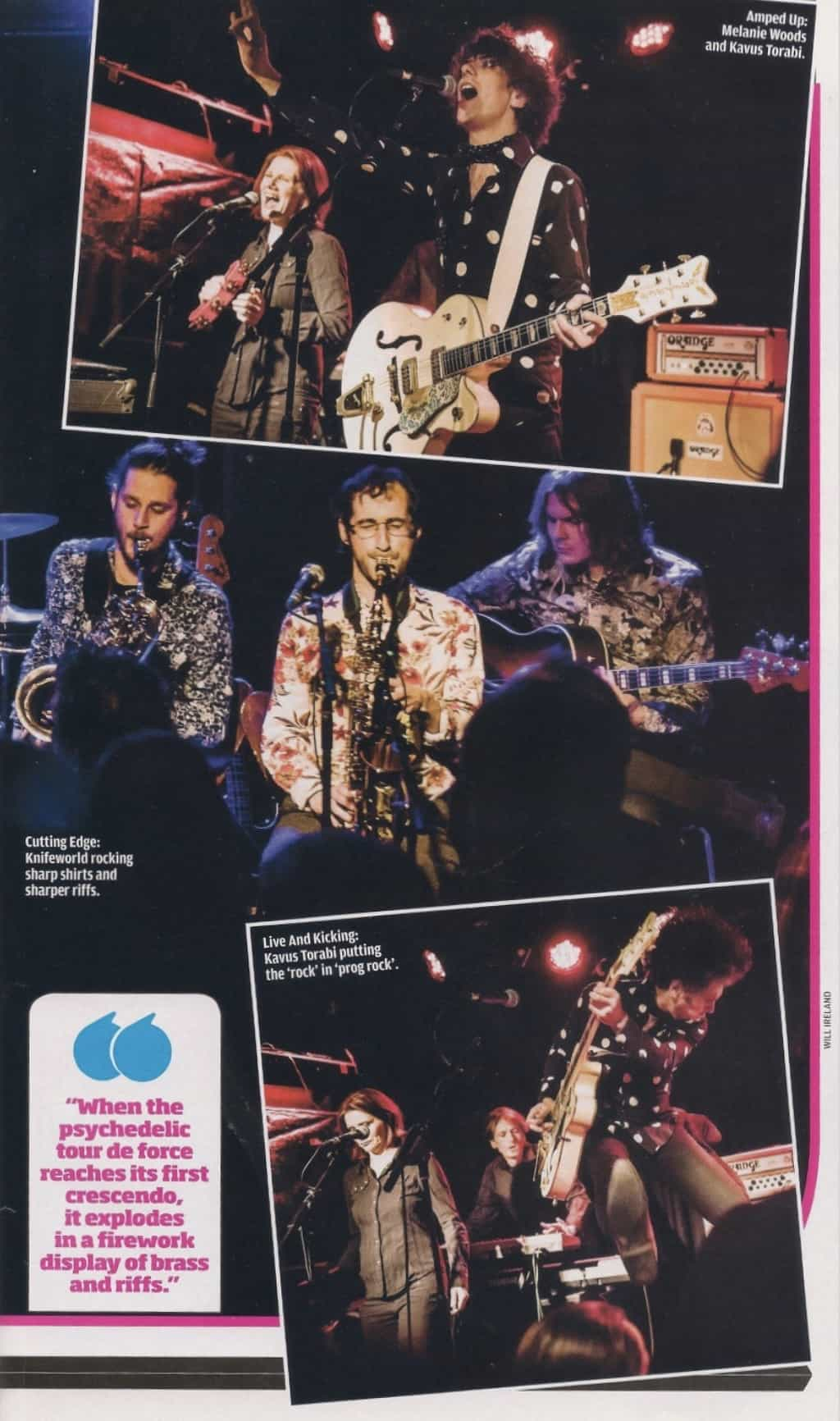 Knifeworld Live Review in Prog Magazine